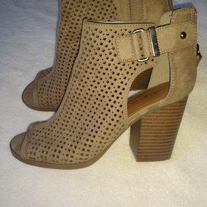 Boots Indigo Rd. Sexy peep toe boots